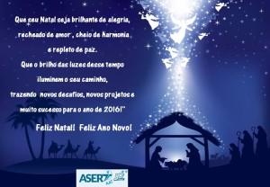 Cartão Natal Asert